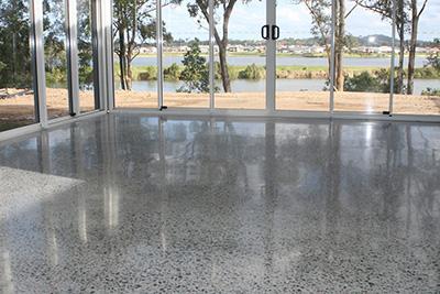 polished concrete nwa
