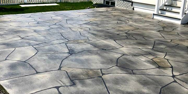Springdale, Fayetteville, Rogers stained concrete patio